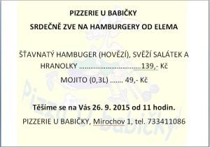 Hamburgery od Elema 2015
